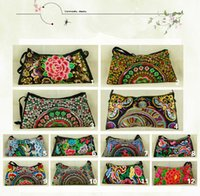 Cheap Wholesale-Free Shipping !Low-price promotion wholesale Embroidered bags small gorgeous shoulder cross-body women's handbag fashion bags