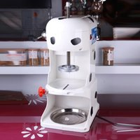 Wholesale Commercial Ice Shaver machine Ice Crusher Machine ice snow machine ice planer factoy dirently sale