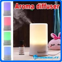 Wholesale Hot Mini protable Ultrasonic ML Air Humidifier Purifier Lonizer Warm White Aroma Diffuser Mist Maker for Home