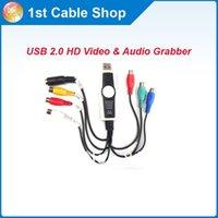 audio video compression - Wholesal free premium USB HD Video Audio Grabber Support MPEG MPEG MPEG Compression Format