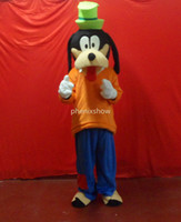 Free Size goofy costume - goofy dog orange adult size hot sale free ship Mascot Costume cartoon Halloween dress