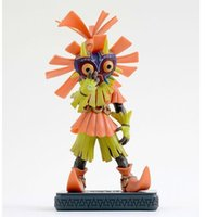 plastic skull - Majoras Mask Action Figure The Legend of Zelda Action Figure Zelda Majora s Mask Skull Kid Collectible Model Toy