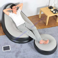 Wholesale inflatable lounge sofa set lounge size cm chair size cm include repair patch