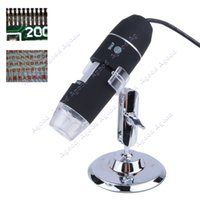 Wholesale High Quality X MP USB LED Light Digital Microscope Endoscope Video Camera Magnifier SV004827