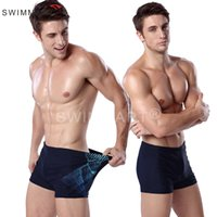 beach batch - men sexy swim suit A high end men s spa swimming trunks beach pants nylon star code from a batch swimsuit