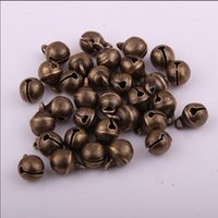 Wholesale High quolity MM Copper bells in antique bronze plating jeans bells men jewelry beading accessories chinese bells