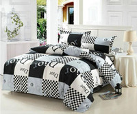 Wholesale newest cotton Printing Cotton Bedding Set bed Sheet Quilt Covers Duvet Covers PillowCase Bed Linen bedclothes