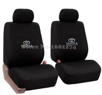 accessories camry - 2 front seat Universal car seat Cover Toyota Corolla Camry Rav4 Auris Prius Yalis Avensis capa banco carro car accessories