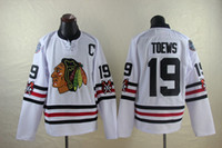 Men chicago - Hockey Jerseys Blackhawks Jonathan Toews White Winter Classic Jeresys Premier Player Jerseys Chicago Hockey Jerseys Best Quality