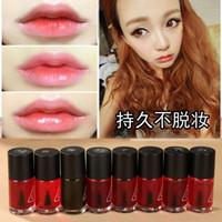 mini lip gloss - 3CE Concept Eyes Liquid Lipstick Waterproof mini magic cherry pink lip tint stain lip gloss nature and long lasting lipstick Rouge Lotion