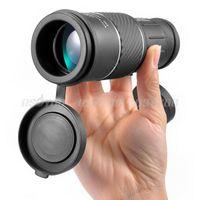 Wholesale HOT x Dual Focus Zoom Green Optic Lens Armoring Travel Monocular Telescope Drop Shipping A5