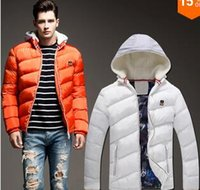 Wholesale Fall New winter fashion men cotton padded jacket zipper jacket yards Korea cultivate cover men hooded cotton Parks NL