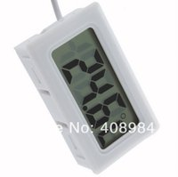 Wholesale hot New Mini Digital LCD Thermometer Hygrometer Humidity Temperature tester