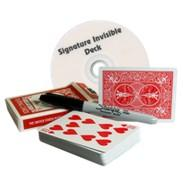 magic deck - Signature Invisible Deck by Scott Alexander fast delivery send via email magic teaching video Mentalism magic