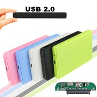 Wholesale dropshipping Portable USB inch Hard Drive External Enclosure SATA Mobile HDD Case Box