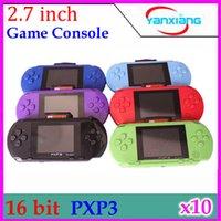 Wholesale Newest Game Player PXP3 Bit INCH LCD SCREEN BUILT IN BIT SEGA GAMES RW PXP3