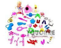 Wholesale Girl birthday gift accessories for Barbie doll kurhn doll