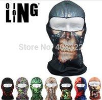 animal bike helmet - New D Animal Active Outdoor Sports Bicycle Skull Bike Motorcycle Helmet Neck Face Mask Ski Sport Headband