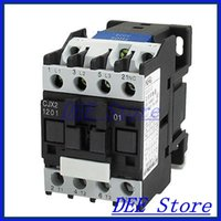 Wholesale V A Phase P N C AC Contactor DIN Rail Mount V Coil CJX2