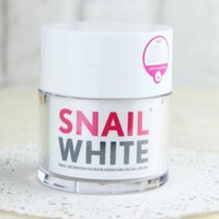 Wholesale 50g pc SNAIL WHITE Snail Face Cream Skin Regenerate Recovery Renew Moisturizer Thailand Brand Snail Cream Face Care