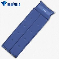 air pillows - Waterproof Automatic Inflatable Self Inflating Dampproof Sleeping Pad Tent Air Mat Mattress with Pillow for Outdoor Camping Y1465