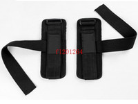 barbell pad - 50pcs pairs Weight Lifting Gloves Chin Up Palm Supporters Grip Barbell Pads Bar Straps with Wrist Support