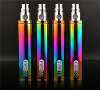 Cheap Greensound ecig batteries Best Ego II 2200mah battery rainbow 2200mAh spinner 2