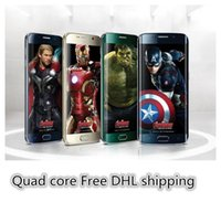 Wholesale HDC S6 G9200 phone Quad core MTK6582 Android5 WiFi G Single Micro Sim Card Bluetooth show G network DHL FREE