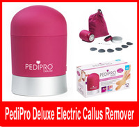 battery callus remover - PediPro Deluxe Electric Callus Remover for Skin Heels Toes Foot Care Electronic Personal Pedicure Bullet Pedipro