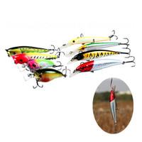 artificial lures for carp - Minnow Crank Fishing Lures Artificial Simulation Fishing Bait Suitble for Carp Bass Pike FHG_206