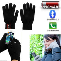Wholesale Newest Design Bluetooth Hat And Bluetooth Gloves Hi Fun Hi Call Headset Speaker Bluetooth Magic Talking Gloves for Moblie Phones