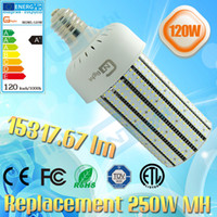 Wholesale 400W Metal Halide retrofit LED Grow light replacement LED Canopy light W E40 Corn bulb lamps