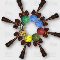 r11 - NEW games color handle kendamas cm skills sword ball jade sword kendama crack paint wooden toy copper color handle