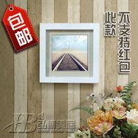 Wholesale 7 inch frame squared frame wall frame car frame Polaroid Photo Frame Creative Wall swing sets