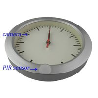 active camcorder - 720 P PIR Round Clock Camera DVR House Security Clock CCTV Camera PIR Active hidden Camcorder