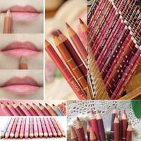 Wholesale Women s Professional Lipliner Waterproof Lip Liner Pencil CM Colors Per Set Hot