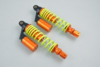 Wholesale Hot Sale quot mm Pair Air Gas Shock Absorber Spring Suspension Scooter ATV Quad Green PA110