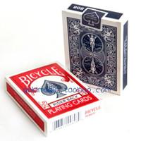 Wholesale Practice of playing cards magic poker bicycle poker red and blue colors