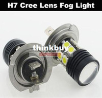 Wholesale LED H7 SMD Parking Light Cree Lens Fog Light Daytime Running Light tiggou2