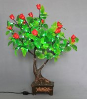 Christmas Tree   Artificial Flower LED Glow Christmas Tree Bonsai Landscape Lighting Night Light For Wedding Party Christmas Decoration Free Shipping