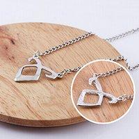 rune - Fashion Alloy Rune Style Pendant Neckchain Sheephead Pattern Necklace Ladies Outdoor Accessories JNM116