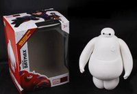 Wholesale New cm Big Hero Baymax Vinyl Action Figure Toy Ballon Man Dolls Good Birthday Gift For Kids EMS