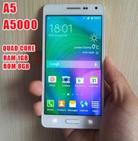a5000 - 2015 New arrive A5 phone A5000 prefect MTK6582 Quad Core GHz GB RAM GB ROM Andriod4 G smartphone inch MP HD