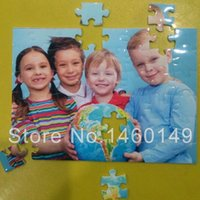 Wholesale Photos Custom DIY Jigsaw Puzzle Personalized Gift Valentine Anneversity gift for girlfriend X18CM with pieces