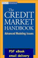 advance marketing - Credit Market Handbook Advanced Modeling Issues Wiley Finance