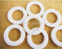 Wholesale 90 sets New High quality Curtain accessories white large roman ring roman grommet for curtains hole digging circle
