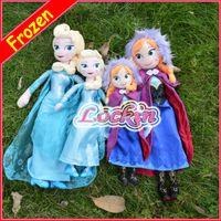 disney plush - Disney Frozen Toys Elsa Anna princess stuffed Soft plush Moive Toys For Gifts