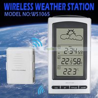Wholesale WS1065 Wireless Weather Forecast Station Backlight LCD Display Device