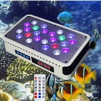 Wholesale new x3 W Dimmable Led Aquarium Light Led Reef Tank Lighting Full Spectrum for Coral Marine LSP SPS Growth aquario