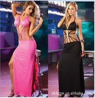 belly dancer lingerie - Lingerie sexy dress nightclub dancer costumes sides mopping tight dress nightclub singer clothing